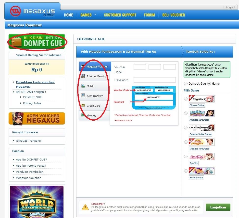 click here for mi-cash guide