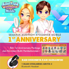 Event 1st Anniversary Audition AyoDance Mobile