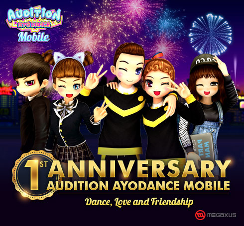 Happy 1st Anniversary Audition AyoDance Mobile!
