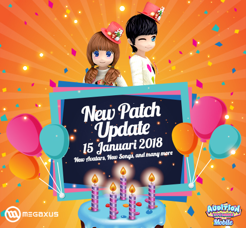 New Patch Update AyoDance Mobile 15 Januari 2019